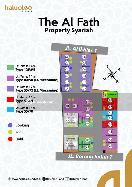 Rumah Syariah Toddopuli Kota Makassar 2 Lantai #109408967