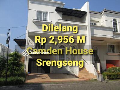 Dijual - Dilelang Rumah Bagus Siap Huni Harga Murah Dalam Cluster di Srengseng