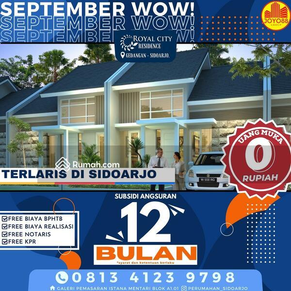 RUMAH SIDOARJO MURAH TERLARIS DI PUSAT KOTA ROYAL CITY RESIDENCE #109466395