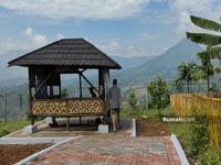 Dijual - Kavling Nuansa Alam Tahap 3 di Bogor, View Gunung Hijau