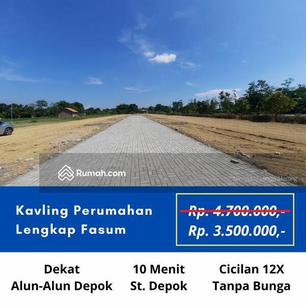 Area Stasiun Depok: Jual Kapling Tanah SHM Depok Kota Harga 3 Jt-an #109499061