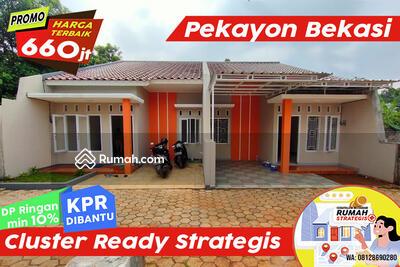 Dijual - Unit Ready Cluster 2lt Strategis dkt Jl Ry Pekayon Galaxy Bekasi