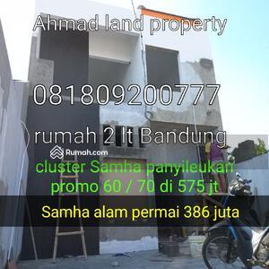 Dijual - Jual rumah murah di pemasaran Samha alam permai jatihandap Bandung Cimenyan Antapani padasuka