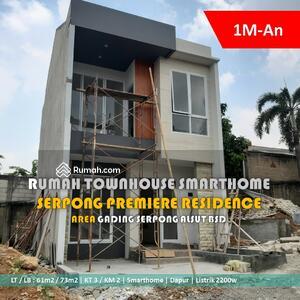Dijual - Rumah cluster baru 1M-an gading serpong alam sutera