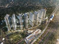 Dijual - Apartemen mewah deket stasiun LRT cuman 400 juta an aja