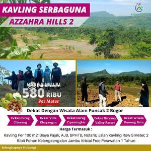 Dijual - AZZAHRA HILLS TAHAP 2