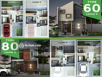 Dijual - Rumah Tanpa Bank Dengan taman Bermain Dan Lingkungan Asri