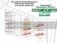 Dijual - Tanah Kavling Di Ciracas Murah, 100 Meter dari Jl. Raya PKP