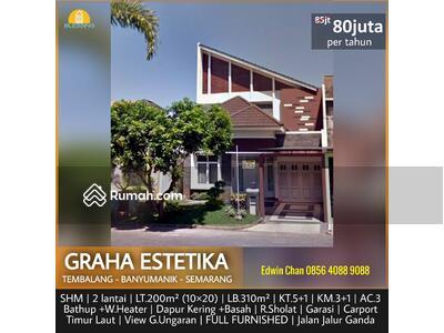 Disewa - DISEWAKAN Rumah Mewah di Graha Estetika, Semarnag