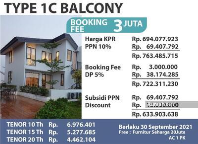 Dijual - Balcony RollingHills Telukjambe Karawang Barat Mewah