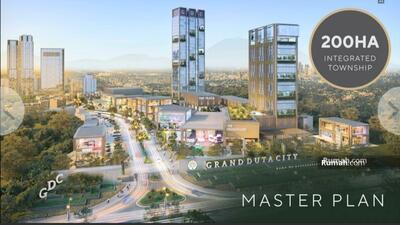 Dijual - Grand Duta City Parung, Cluster Cascada: Rumah Modern, Sejuk, Lengkap, Strategis, mulai 600 Jutaan