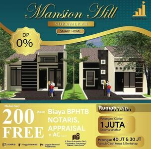 Dijual - Mansion Hill Sukamekar