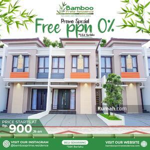 Dijual - Promo Akhir Tahun Kapan Lagi Punya Rumah Mewah di Selatan Bintaro DP Cuma 25 Juta