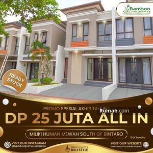 Dijual - Special Akhir Tahun DP 25 Juta All In Dapat Rumah Mewah di Selatan Bintaro