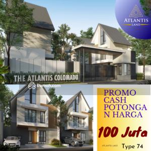 Dijual - Rumah 2 lantai Elite Harga baru Dp Lokasi Utara Hotel alana Promo cash back 100 juta