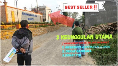 Dijual - Dekat Pusat Kampus dan Kota Malang