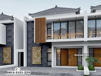 Dijual - Rumah 2 Lantai Murah Pamulang Tangerang Selatan Nuansa Bali Akses 2 Pintu Tol
