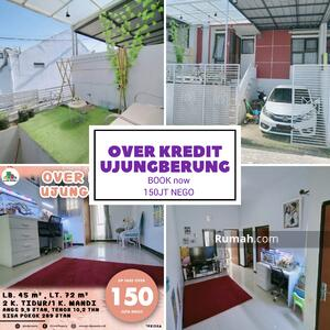 Dijual - Rumah Over kredit bisa nego keras, di Ujung Berung Bandung