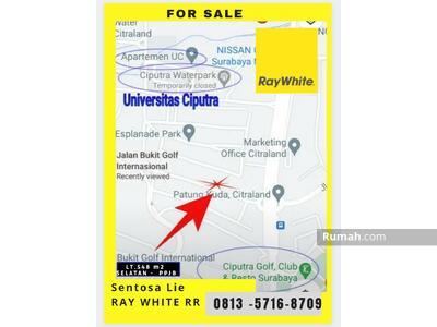 Dijual - Citraland Bukit Golf Internasional