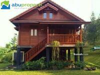 Dijual - Rumah Kayu Knockdown Khas Kota Palembang Dengan Berbagai Desain Free Ongkir