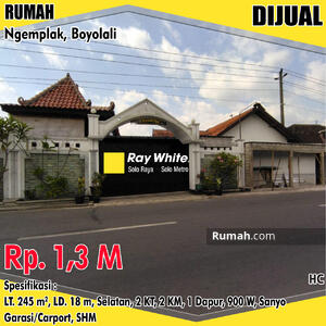 Dijual - Rumah Boyolali 1. 3 M