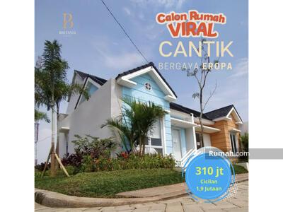 Dijual - Rumah Viral Cantik Bergaya Eropa di Bekasi