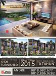 Rumah Di Jual Cepat dan Mewah New Town House Double Decker Konsep Resort VIEW LAUT 4 Lantai Ada LIFT dan Pool @Ancol Seafront Luxurious, Ancol Jakarta Utara