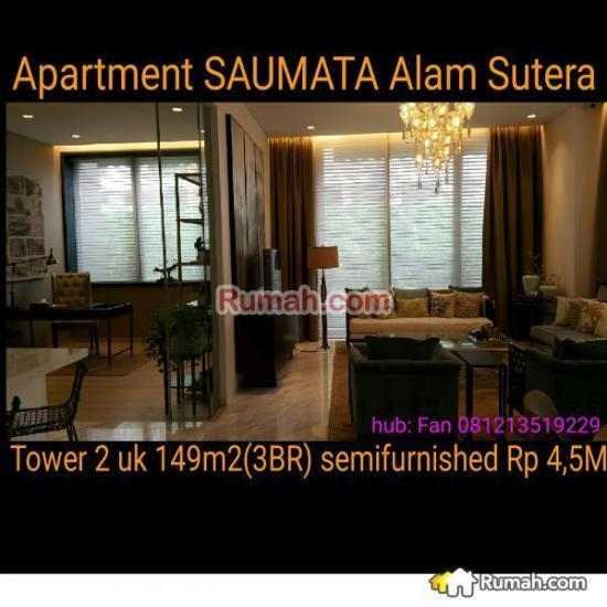 Ikea Indonesia Alam Sutera Tangerang: Dijual Apartment SAUMATA Alam Sutera Tower Ke2, Alam