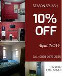 Disewakan apartment Modernland Tower Blue full furnish di Tangerang